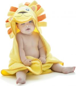 Little Tinkers World Hooded Baby Towel