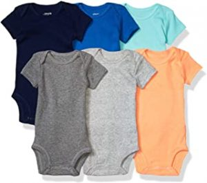 Simple Joys by Carter's Baby Boys' Short-Sleeve Bodysuit