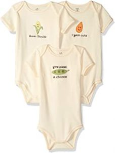 Touched by Nature Baby Organic Cotton Bodysuits