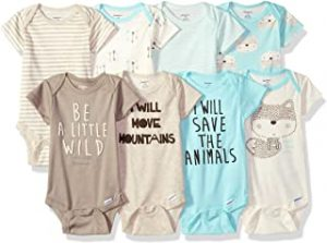 Baby Boys' 8-Pack Short-Sleeve Onesies Bodysuit