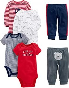 Simple Joys by Carter's Baby Boys' 6-Piece Bodysuits