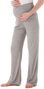 Ecavus Women's Maternity Pregnancy Trousers