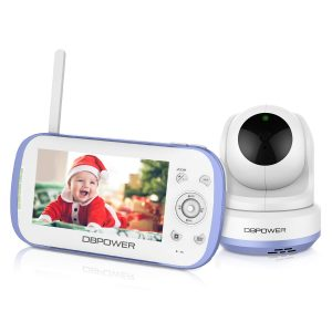 DBPOWER Video Monitor, 270o Pan-Tilt-Zoom