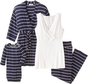 Maternity and Nursing PJ Pant Set for Mom and Baby