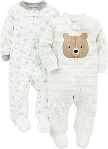 Simple Joys by Carter's Cotton Footed Sleep and Play