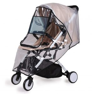 Baby Travel Weather Shield, Windproof Waterproof, Protect from Dust Snow