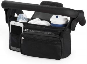 Stroller Organizer with Insulated Cup Holder by Momcozy