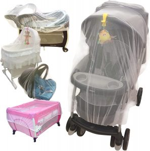 Croc n frog Baby Mosquito Net for Stroller